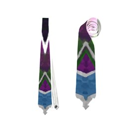 Sly Dog Modern Grunge Style Blue Pink Violet Neckties (Two Side)