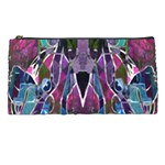 Sly Dog Modern Grunge Style Blue Pink Violet Pencil Cases Front