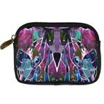 Sly Dog Modern Grunge Style Blue Pink Violet Digital Camera Cases Front