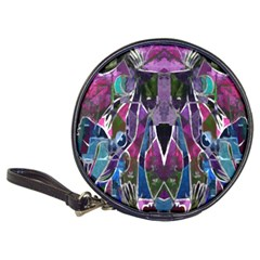 Sly Dog Modern Grunge Style Blue Pink Violet Classic 20 Cd Wallets