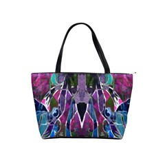 Sly Dog Modern Grunge Style Blue Pink Violet Shoulder Handbags