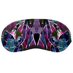 Sly Dog Modern Grunge Style Blue Pink Violet Sleeping Masks