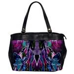 Sly Dog Modern Grunge Style Blue Pink Violet Office Handbags Front