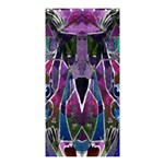 Sly Dog Modern Grunge Style Blue Pink Violet Shower Curtain 36  x 72  (Stall)  33.26 x66.24 Curtain