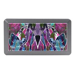 Sly Dog Modern Grunge Style Blue Pink Violet Memory Card Reader (mini)