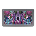 Sly Dog Modern Grunge Style Blue Pink Violet Memory Card Reader (Mini) Front
