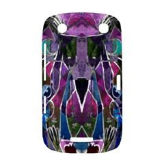 Sly Dog Modern Grunge Style Blue Pink Violet BlackBerry Curve 9380