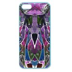 Sly Dog Modern Grunge Style Blue Pink Violet Apple Seamless iPhone 5 Case (Color) Front