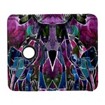 Sly Dog Modern Grunge Style Blue Pink Violet Samsung Galaxy S  III Flip 360 Case Front