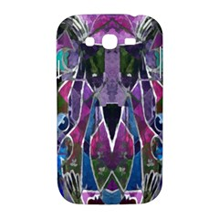 Sly Dog Modern Grunge Style Blue Pink Violet Samsung Galaxy Grand DUOS I9082 Hardshell Case