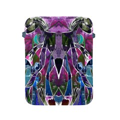Sly Dog Modern Grunge Style Blue Pink Violet Apple iPad 2/3/4 Protective Soft Cases