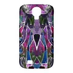 Sly Dog Modern Grunge Style Blue Pink Violet Samsung Galaxy S4 Classic Hardshell Case (PC+Silicone)