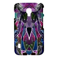 Sly Dog Modern Grunge Style Blue Pink Violet LG Optimus L7 II