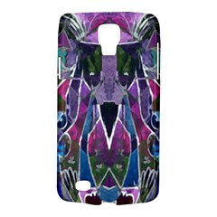 Sly Dog Modern Grunge Style Blue Pink Violet Galaxy S4 Active