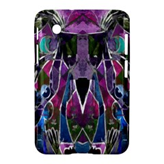 Sly Dog Modern Grunge Style Blue Pink Violet Samsung Galaxy Tab 2 (7 ) P3100 Hardshell Case