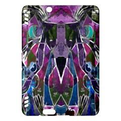 Sly Dog Modern Grunge Style Blue Pink Violet Kindle Fire HDX Hardshell Case