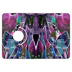 Sly Dog Modern Grunge Style Blue Pink Violet Kindle Fire HDX Flip 360 Case