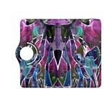 Sly Dog Modern Grunge Style Blue Pink Violet Kindle Fire HDX 8.9  Flip 360 Case Front