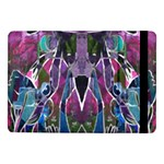 Sly Dog Modern Grunge Style Blue Pink Violet Samsung Galaxy Tab Pro 10.1  Flip Case Front