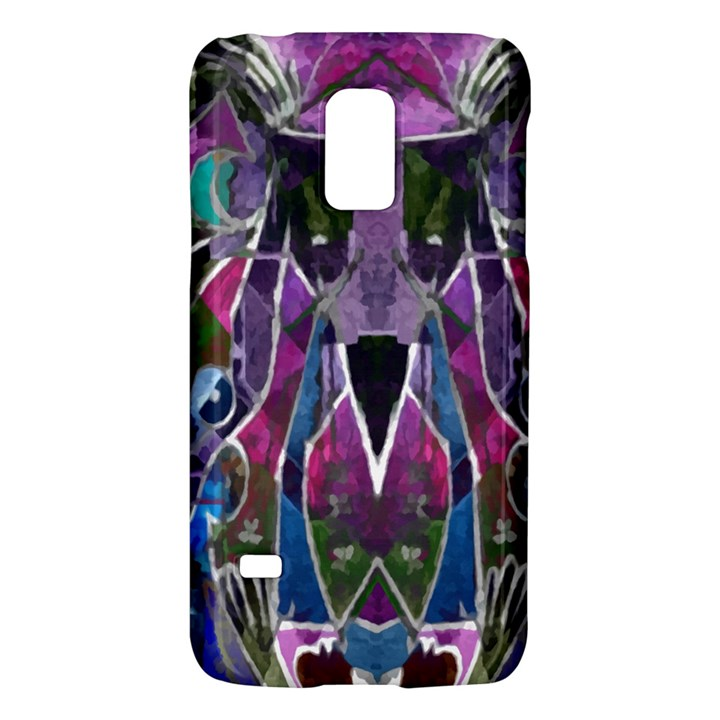 Sly Dog Modern Grunge Style Blue Pink Violet Galaxy S5 Mini
