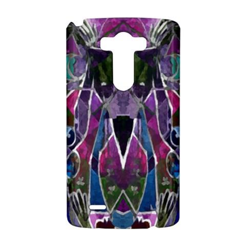 Sly Dog Modern Grunge Style Blue Pink Violet LG G3 Hardshell Case