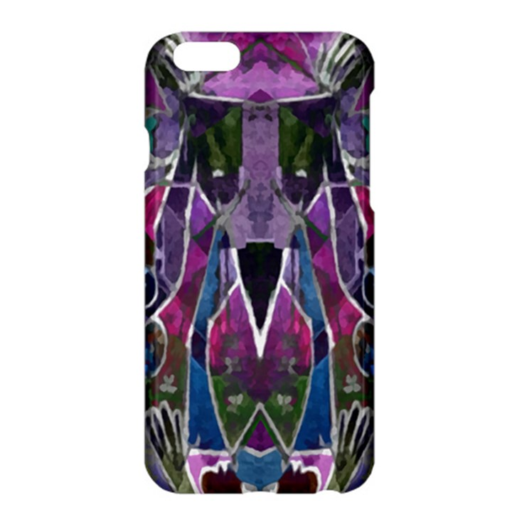 Sly Dog Modern Grunge Style Blue Pink Violet Apple iPhone 6 Plus/6S Plus Hardshell Case