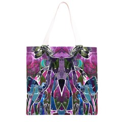 Sly Dog Modern Grunge Style Blue Pink Violet Grocery Light Tote Bag