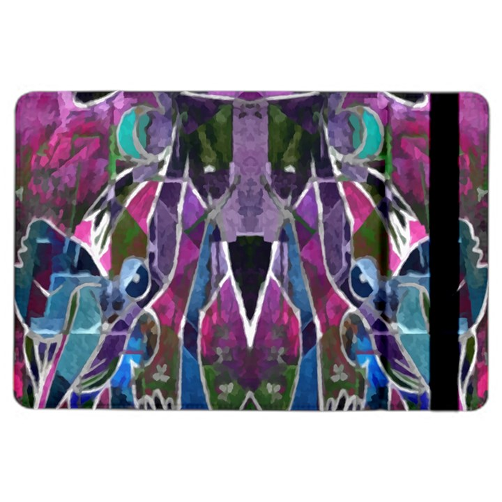 Sly Dog Modern Grunge Style Blue Pink Violet iPad Air 2 Flip