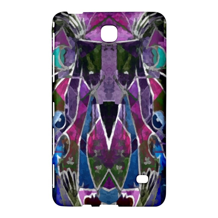 Sly Dog Modern Grunge Style Blue Pink Violet Samsung Galaxy Tab 4 (7 ) Hardshell Case
