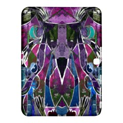 Sly Dog Modern Grunge Style Blue Pink Violet Samsung Galaxy Tab 4 (10.1 ) Hardshell Case