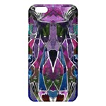 Sly Dog Modern Grunge Style Blue Pink Violet iPhone 6 Plus/6S Plus TPU Case Front