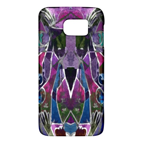 Sly Dog Modern Grunge Style Blue Pink Violet Galaxy S6