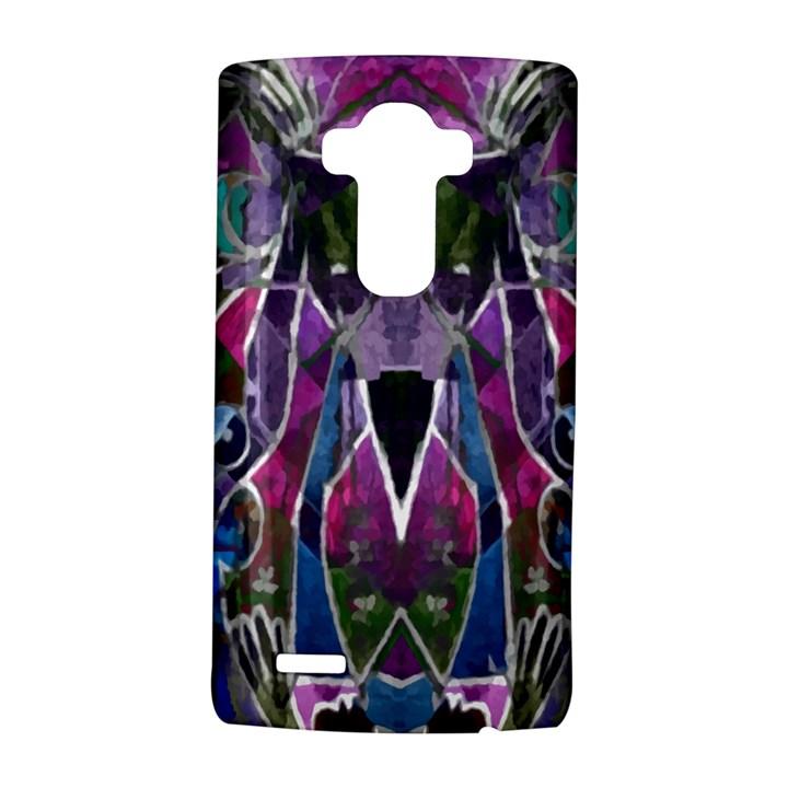 Sly Dog Modern Grunge Style Blue Pink Violet LG G4 Hardshell Case