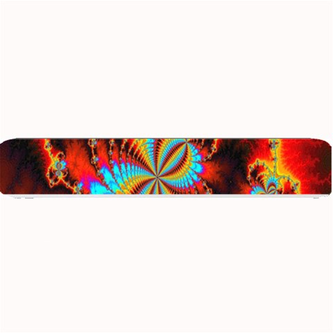Crazy Mandelbrot Fractal Red Yellow Turquoise Small Bar Mats