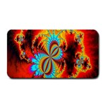 Crazy Mandelbrot Fractal Red Yellow Turquoise Medium Bar Mats 16 x8.5 Bar Mat - 1