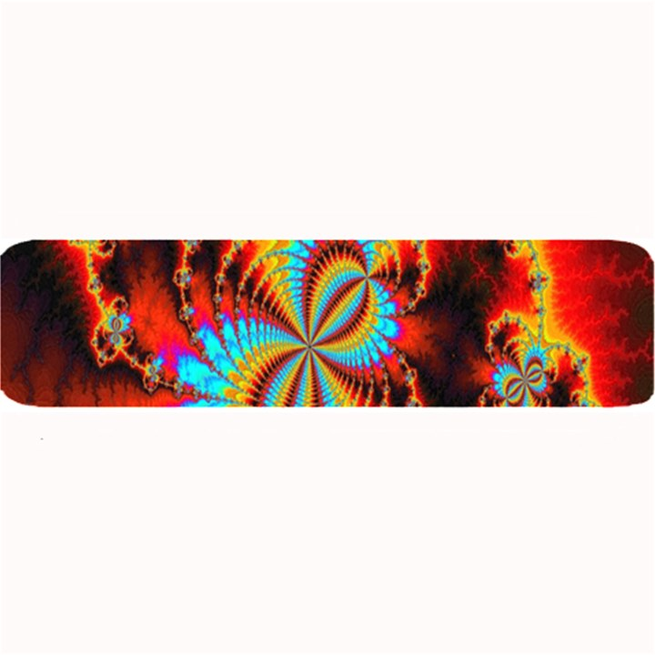 Crazy Mandelbrot Fractal Red Yellow Turquoise Large Bar Mats