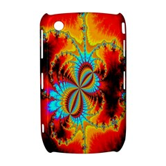 Crazy Mandelbrot Fractal Red Yellow Turquoise Curve 8520 9300