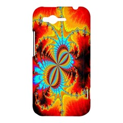 Crazy Mandelbrot Fractal Red Yellow Turquoise HTC Rhyme