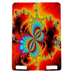 Crazy Mandelbrot Fractal Red Yellow Turquoise Kindle Touch 3G