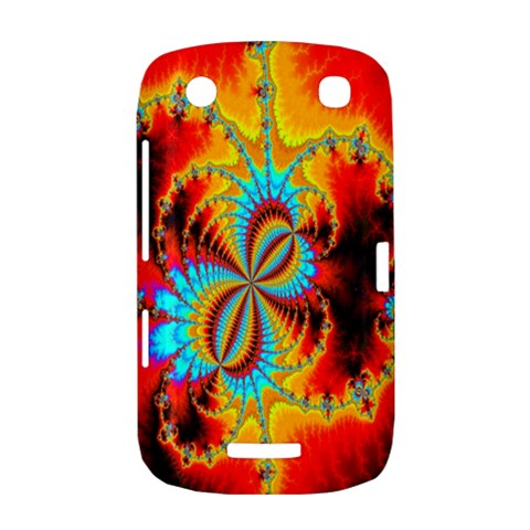 Crazy Mandelbrot Fractal Red Yellow Turquoise BlackBerry Curve 9380