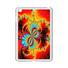 Crazy Mandelbrot Fractal Red Yellow Turquoise Ipad Mini 2 Enamel Coated Cases