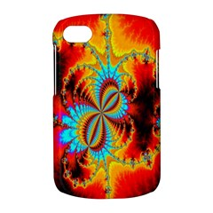 Crazy Mandelbrot Fractal Red Yellow Turquoise BlackBerry Q10