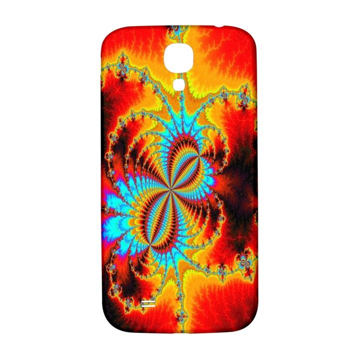 Crazy Mandelbrot Fractal Red Yellow Turquoise Samsung Galaxy S4 I9500/I9505  Hardshell Back Case