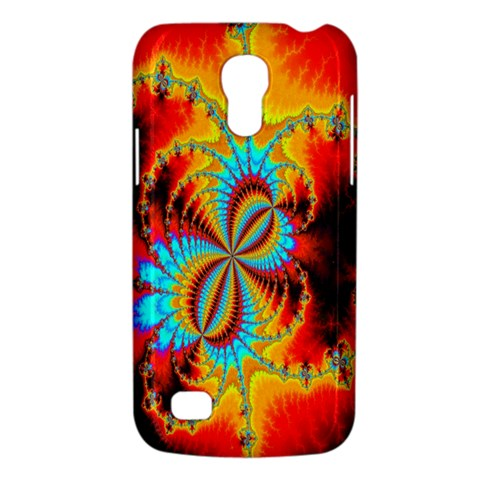 Crazy Mandelbrot Fractal Red Yellow Turquoise Galaxy S4 Mini