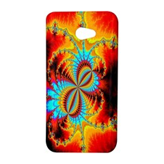 Crazy Mandelbrot Fractal Red Yellow Turquoise HTC Butterfly S/HTC 9060 Hardshell Case