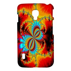 Crazy Mandelbrot Fractal Red Yellow Turquoise LG Optimus L7 II