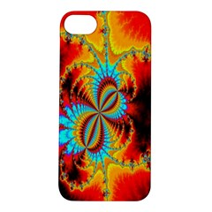 Crazy Mandelbrot Fractal Red Yellow Turquoise Apple Iphone 5s/ Se Hardshell Case