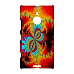 Crazy Mandelbrot Fractal Red Yellow Turquoise Nokia Lumia 1520
