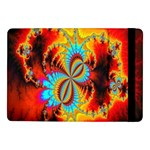 Crazy Mandelbrot Fractal Red Yellow Turquoise Samsung Galaxy Tab Pro 10.1  Flip Case Front
