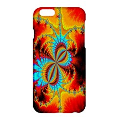 Crazy Mandelbrot Fractal Red Yellow Turquoise Apple iPhone 6 Plus/6S Plus Hardshell Case